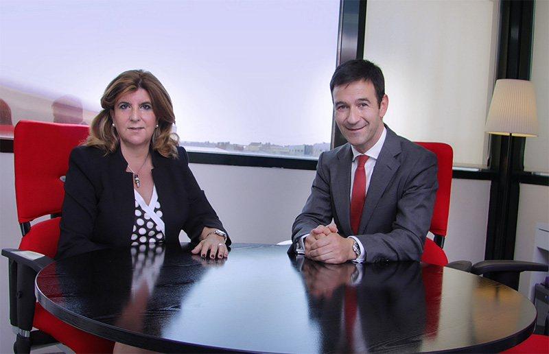 Marisa Camacho, consejera delegada de TIPSA y Jaime Colsa consejero delegado de Palibex