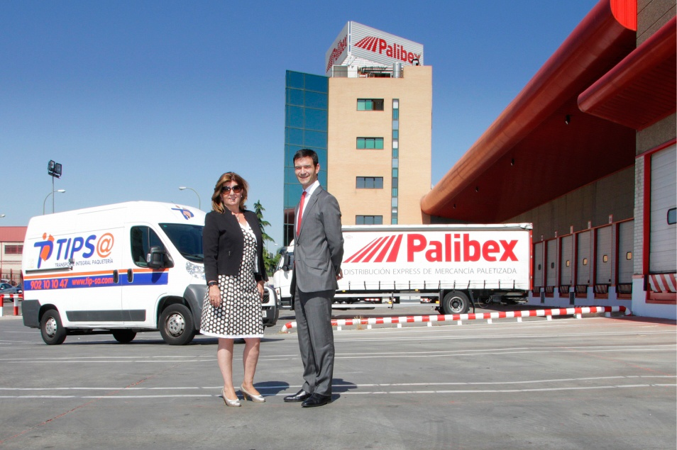 La empresa de mensajería urgente TIPSA ha escogido Palibex