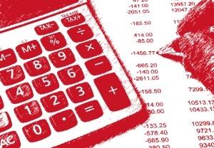 Gráfica del un modelo presupuestario