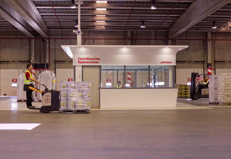 Coordinación de Operaciones en los almacenes de Palibex