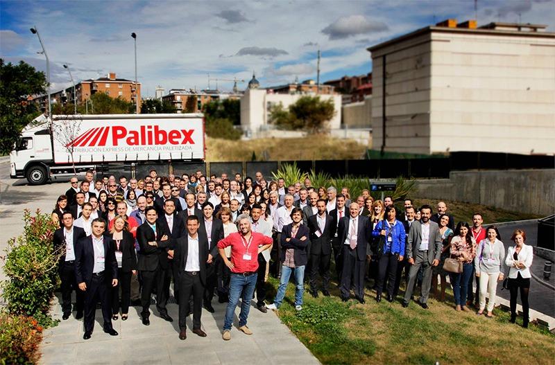 El equipo de Palibex en su II Convención anual