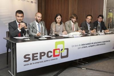 Jaime Colsa en el II Salón para Emprendedores, Pymes y Comercio, SEPCO 2013