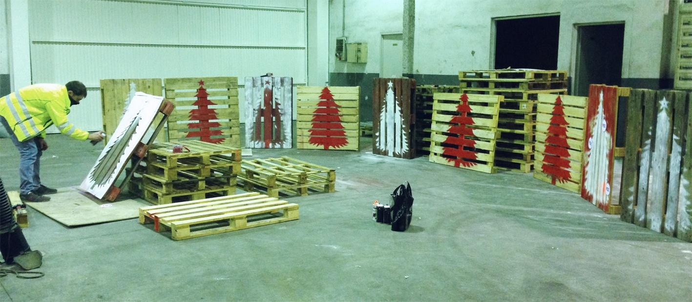 Árboles navideños de Palibex