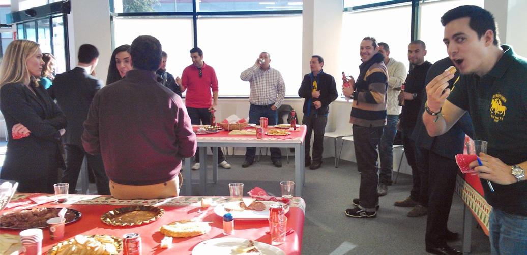 Fiestas navideñas en Palibex