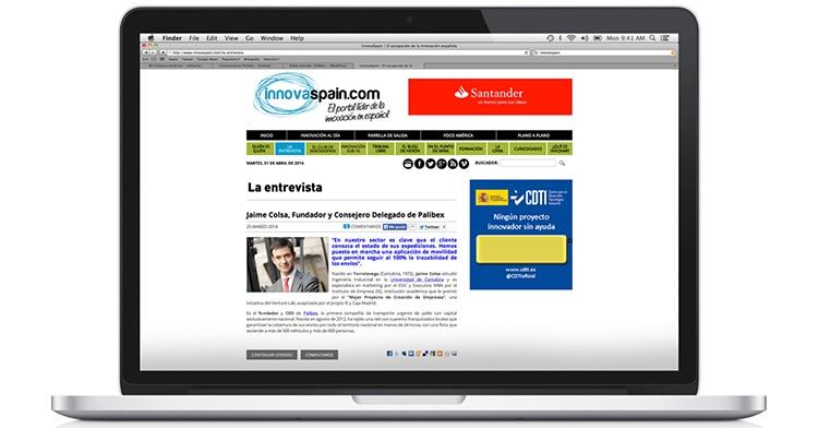 Web de InnovaSpain
