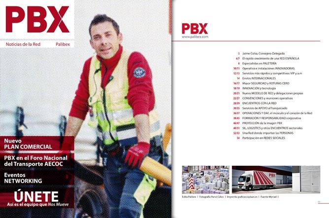 Nro 8 de la Revista PBX