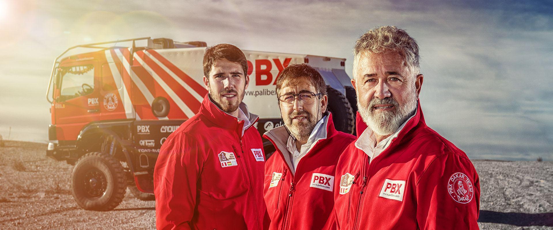 Éxito del PBX Dakar Team