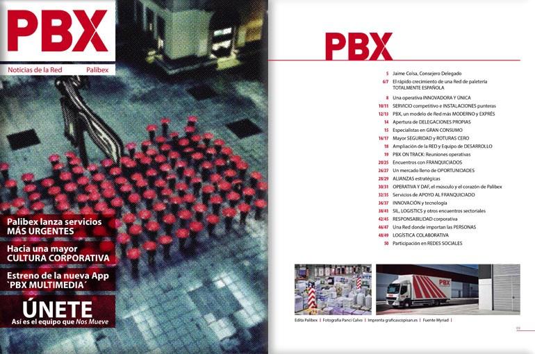 Nro 4 de la Revista PBX