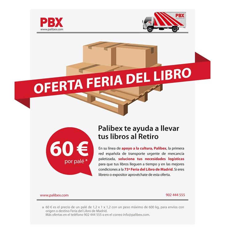 Oferta de Palibex para la Feria del Libro de Madrid