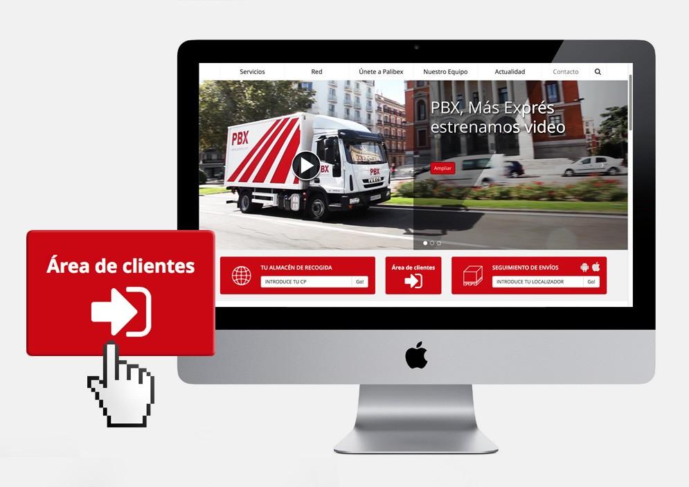 web de clientes cuerpo