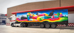 PBX-TRUCK ART PROJECT-okuda