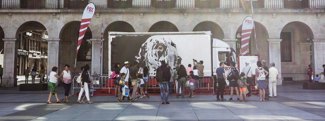 PBX-Palibex-Truck Art Project-Artesantander