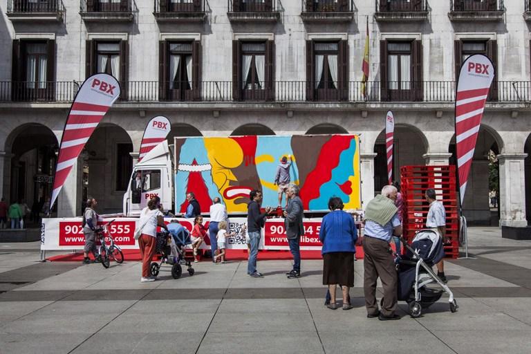 Palibex-ArteSantander-Truck Art Project-Andi Rivas-