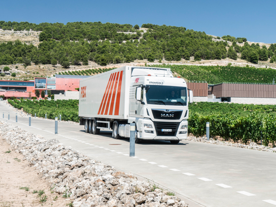 Transporte de mercancía en Barcelona-Cualde-Palibex