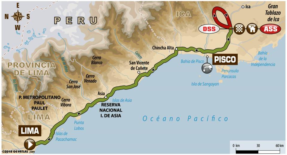 ETAPA 1 Lima / Pisco