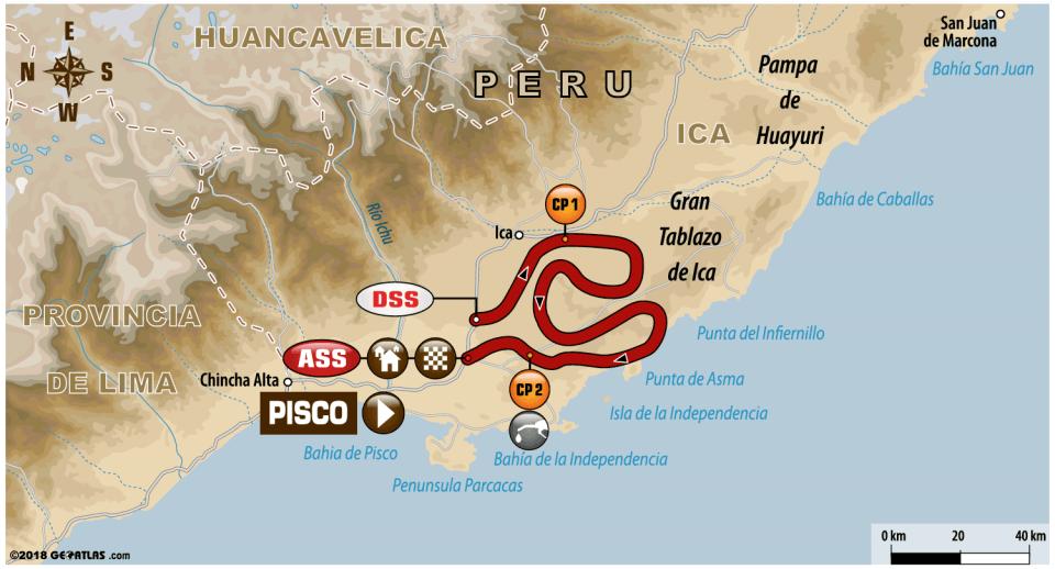 ETAPA 2 Pisco / Pisco