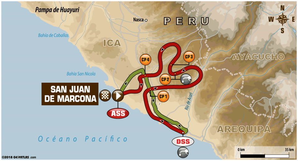 Etapa 4 - San Juan de Marcona / San Juan de Marcona