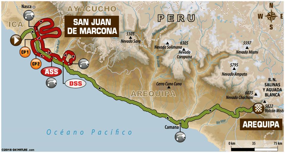ETAPA 5 - San Juan de Marcona / Arequipa
