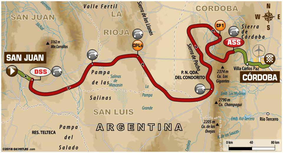 ETAPA 13-Dakar2018-San Juan-Cordoba
