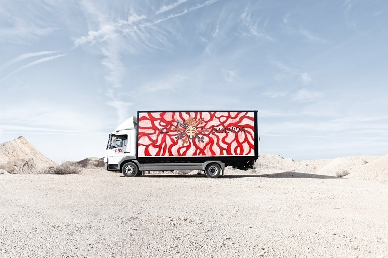 Nave Boetticher-Truck Art Project- Marina Vargas