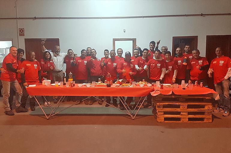 Transportes Santiago de Pablos-PBX Dakar Tour