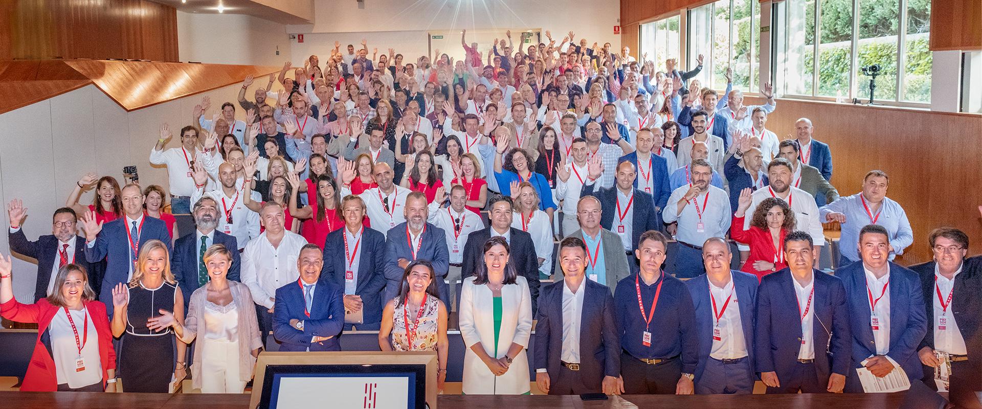 VII Convención en Santander