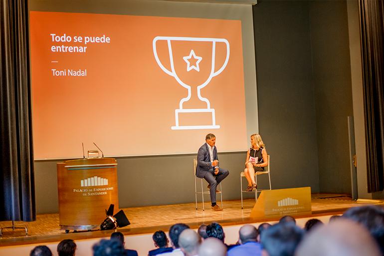 Convencion Palibex Santander-Toni Nadal-Patricia San Vicente