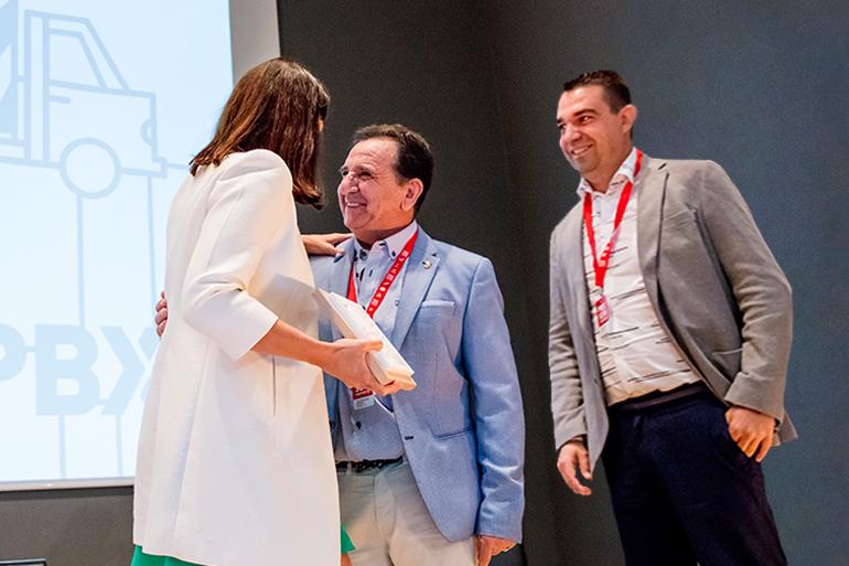 VII Convencion Palibex - Transportes Extremeños Ramon - Premios Palibex