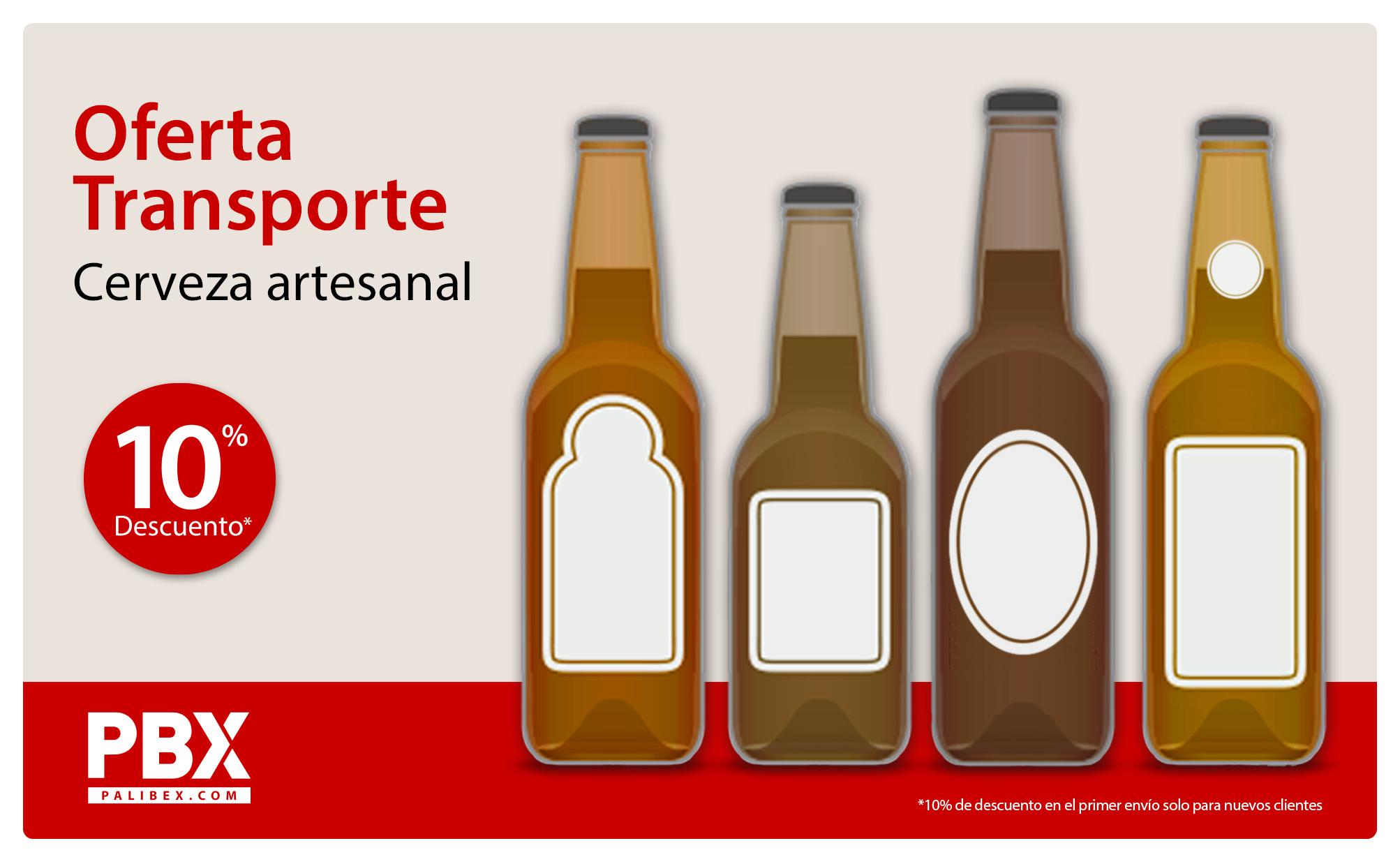 palibex - oferta transporte cerveza artesanal - oferta transporte cerveza a