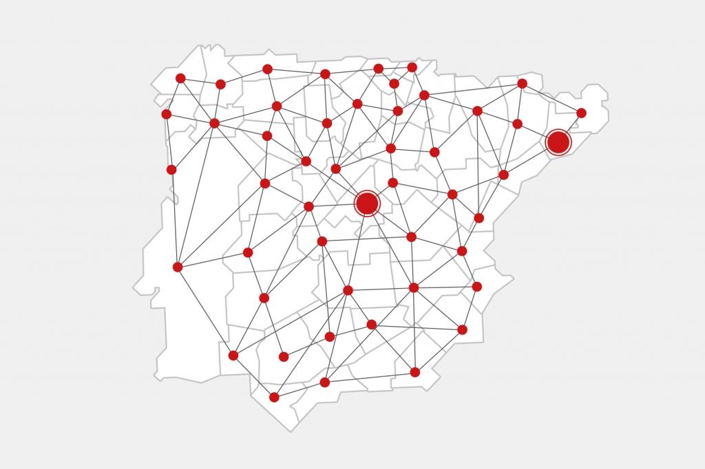 Nuevo modelo de red Palibex - Transporte urgente de palés