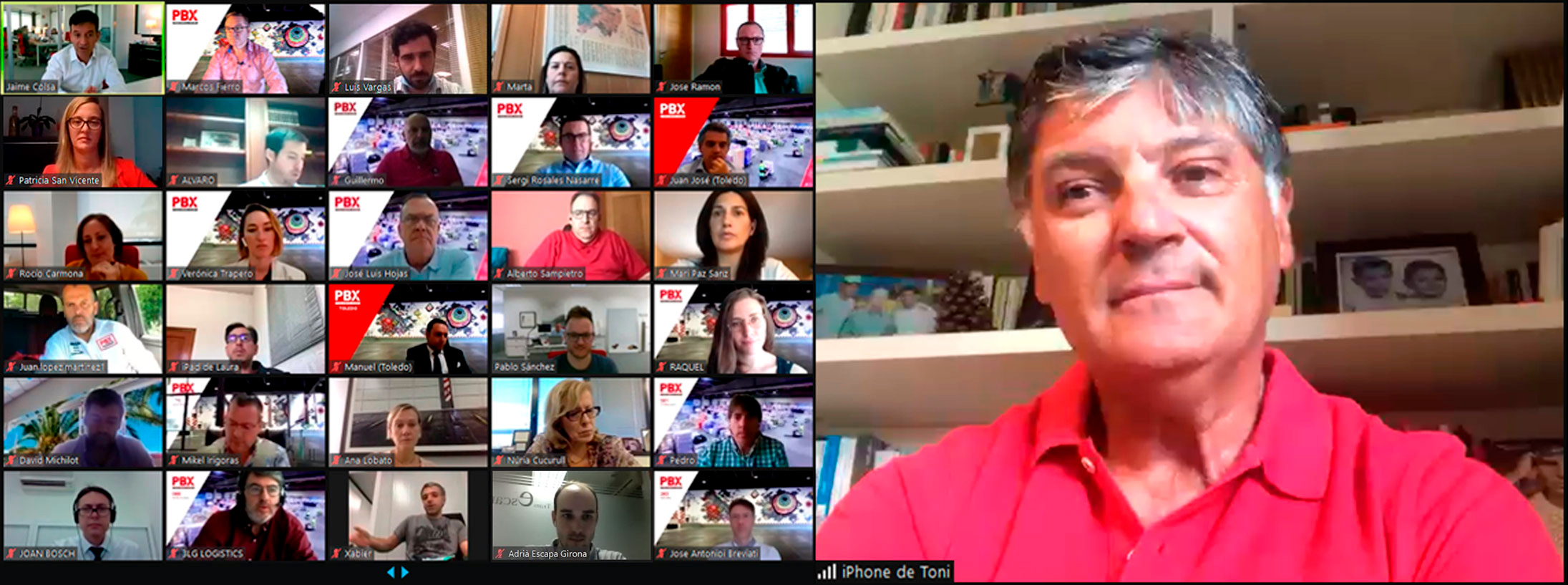 Encuentro online Toni Nadal - palibex
