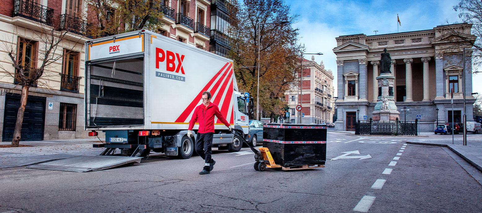 palibex - transporte urgente - logistica colaborativa